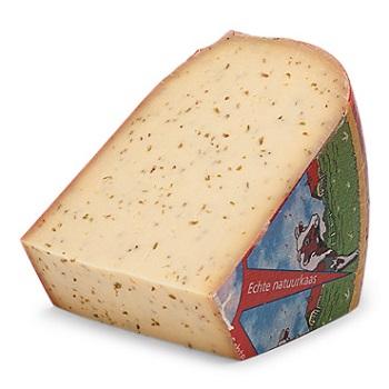 Cumin and Nail Gouda Cheese