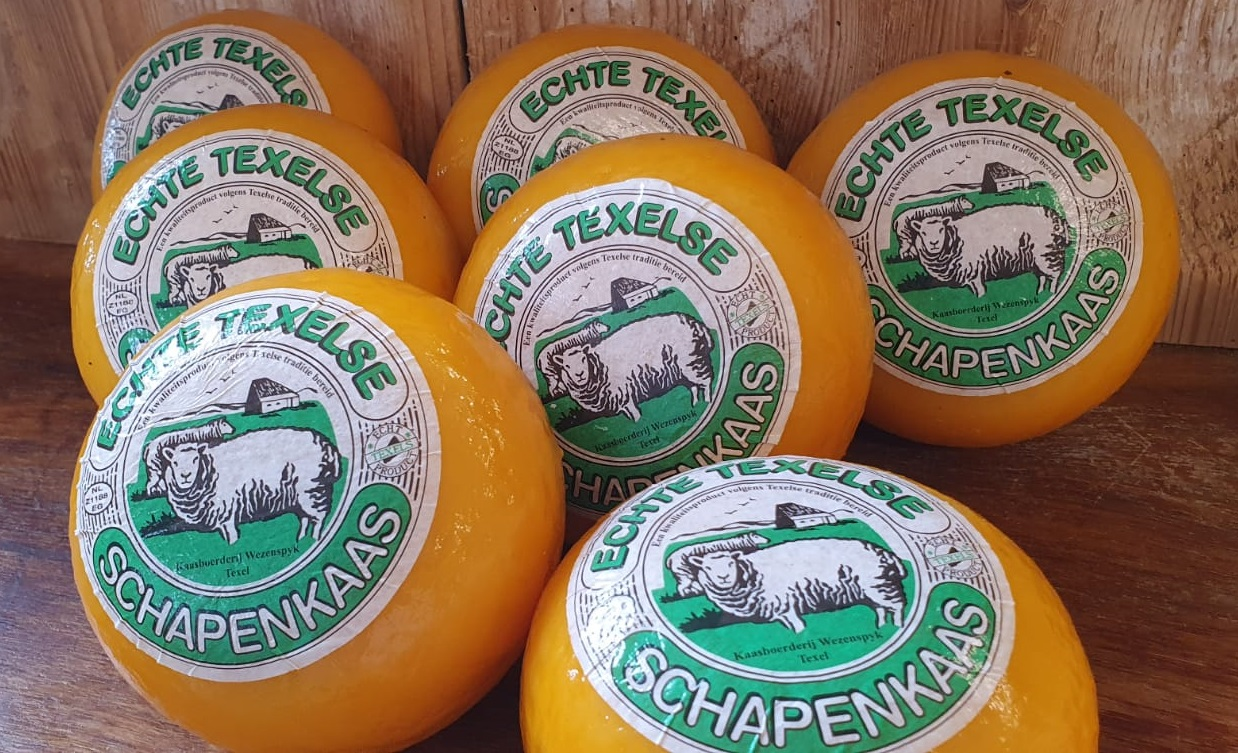 Texel Sheep Cheese and Goat Cheese