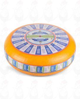 Matured Gouda Cheese | Premium Quality | Entire cheese 12 kilos / 26.4 lbs