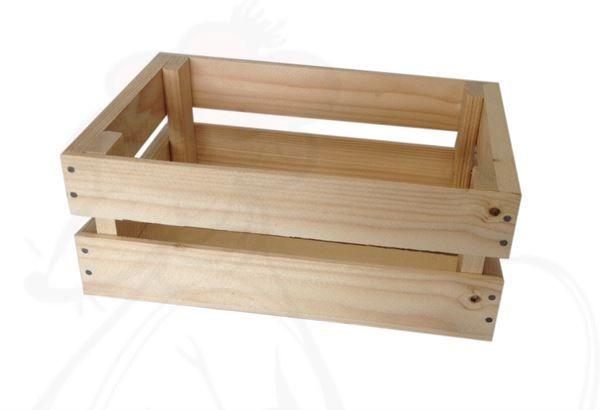Mini Wooden Crate 29x19x115cm