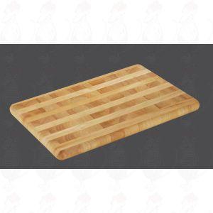 Chopping Board 51 x 35 x 3,5 cm, rubber wood