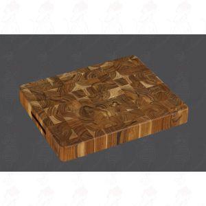 Teak Chopping Block 40 x 30 x 5 cm, Teak Wood