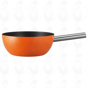 Spring Alu induction fondue pot, Orange