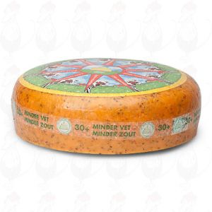 30+ Low Fat Herb Cheese | Premium Quality | Entire cheese 10 kilo / 22 lbs
