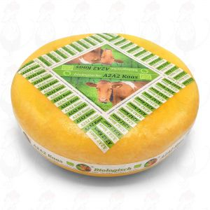 A2A2 Extra matured - A2 Organic cheese | Entire cheese 12 kilo / 26.4 lbs