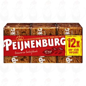 Peijnenburg Portieverpakking Ontbijtkoek 12 Stuks