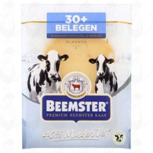 Sliced cheese Beemster Matured Premium 30+ | 150 grams in slices