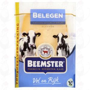Sliced cheese Beemster Matured Premium 48+   250 grams in slices