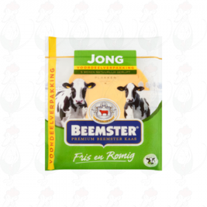 Sliced cheese Beemster Young Premium 48+   200 grams in slices