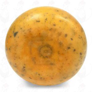 Gouda Nettle Pounds Farmers Cheese   Premium Quality   400 grams / 0.88 lbs
