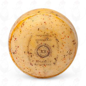 Gouda Italian Herbs Pounds Farmers Cheese | Premium Quality | 400 grams / 0.88 lbs