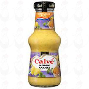 Calvé Curry- Pineapplesauce 250 ml.