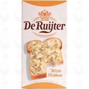 De Ruijter white chocolate flakes