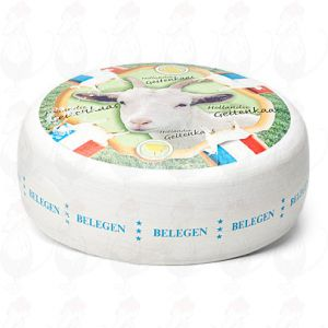 Matured goat cheese | Premium Quality | Entire cheese 10,5 kilo / 23.1 lbs