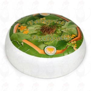 Goats Cheese Fenugreek | Premium Quality | Entire cheese 4,5 kilo / 9.9 lbs