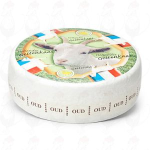 Old Goat's Cheese | Entire cheese +/- 8,2 kilos / 18 lbs