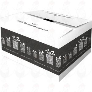 Shipping Box - Gift Box Surprise Black