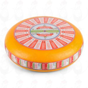 Semi-Matured Gouda Cheese | Premium Quality | Entire cheese 12 kilos / 26.4 lbs