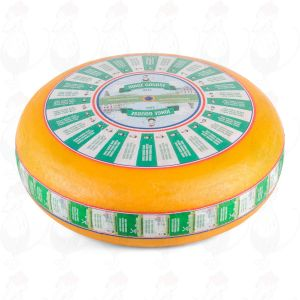 Young Gouda Cheese | Premium Quality | Entire cheese 12 kilos / 26.4 lbs