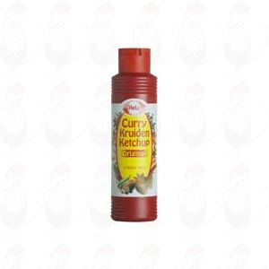 Hela Curry kruiden ketchup original 400ml
