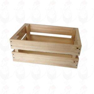 Mini wooden crate - 29x19x11,5cm