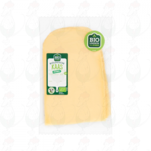 Sliced Organic Cheese Young 50+ | 200 grams in slices
