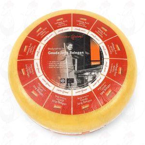 Semi Matured Gouda Organic Biodynamic cheese - Demeter | Entire cheese 12 kilo / 26.4 lbs