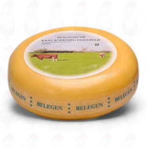 Matured Organic Gouda cheese | Premium Quality | Entire cheese 5,4 kilo / 11.9 lbs