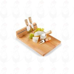 Cheese Board with magnetic for 3 knifes and pins.