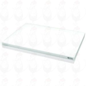 Cheese Chopping Board Professional Plastic Gray Marking 450x330x20 mm
