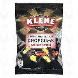 Klene Drop & Fruitsmaak Dropgums Suikervrij | 100 grams