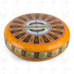 Old Cumin Gouda Cheese | Premium Quality | Entire cheese 10 kilo / 22 lbs