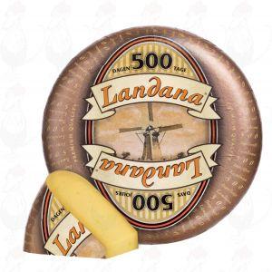 Landana 500 Days | Entire cheese 11,5 kilo / 25.3 lbs
