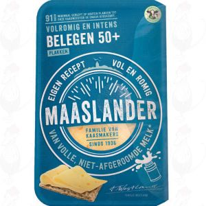 Sliced Maaslander Cheese Matured 50+ | 175 grams in slices