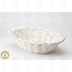 Cheese Basket White 38x28x8