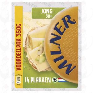 Sliced Milner Cheese Young 30+ | 300 grams in slices