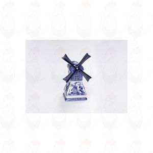Delft Blue Windmill candle light