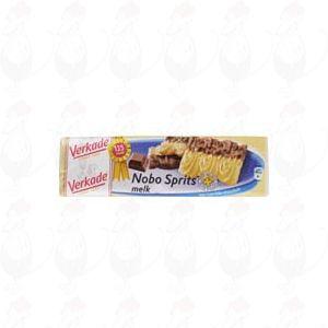 Verkade Nobo sprits melkchocolade 150 grams