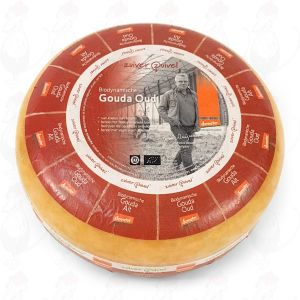 Old Gouda Organic Biodynamic cheese - Demeter | Entire cheese 10 kilo / 22 lbs