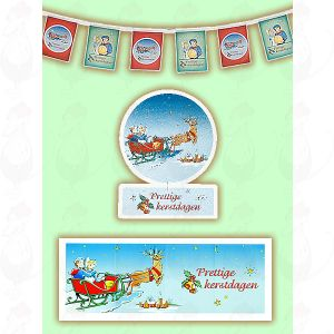 Holland Christmas Cheese promotion Package