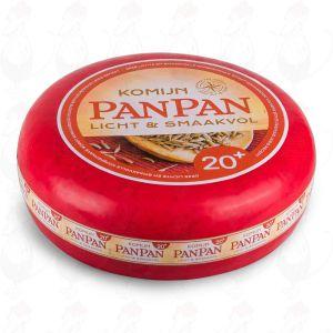 Pan Pan Cheese - Low-fat 20+ Cumin Cheese | Premium Quality | Entire cheese 10,50 kilo / 23.1 lbs