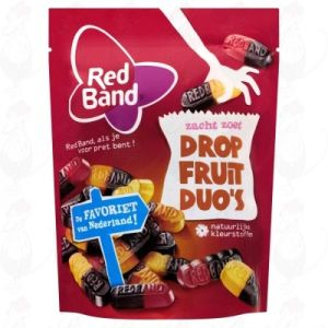 Red Band Zacht Zoet Dropfruit Duo's 305g