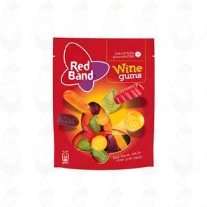 Red Band Wine Gums 305 grams