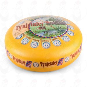 Tynjetaler | Entire cheese 13 kilos / 28.6 lbs