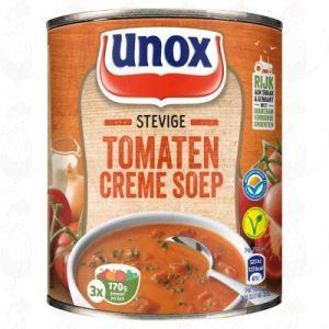 Unox Soep in Blik Stevige Tomatensoep Crème 3 Porties 800ml