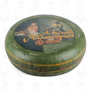 Vermeer Gouda Cheese | Premium Quality | Entire Cheese 11,5 kilo / 25.2 lbs