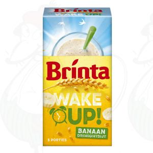 Brinta Wake Up! Banaan Drinkontbijt 5 x 22g