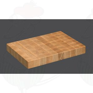 Chopping Block 39 x 26 x 4,5 cm, Beech wood