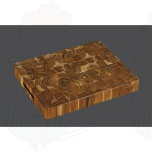 Teak Chopping Block 40 x 30 x 5 cm, Teak Wood