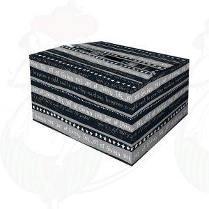 Shipping Box Christmas Black Wish